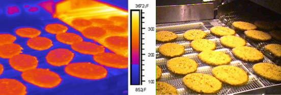 контроль качества хлебопекарных изделий с использованием тепловизора