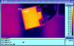 Микрорезистор - обследование тепловизором Testo 880